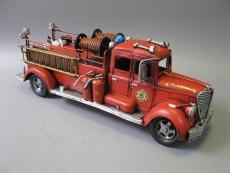 Alte Feuerwehr Blechauto 50cm