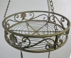 Küchenhänger Baldachin Speckhaken Eisen Antikstil 45cm