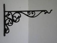 Regal Konsole Wandkonsole Regalträger Haken Eisen 35cm Ausleger Halterung
