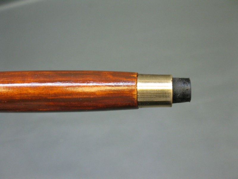 Holz Gehstock Wanderstock Stock Messing Löwe  92 cm Spazierstock Walking Stick
