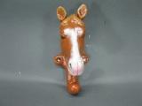 Garderobenhaken, Pferd Gusseisen Haken 13 cm