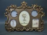 Standbilderrahmen Antikstil für 5 Bilder 40 cm x 32 cm
