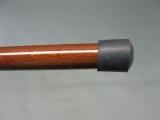 Zerlegbarer Gehstock aus Edelholz mit Messing Griff