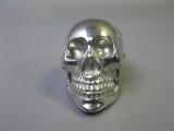 Metall Totenkopf als Briefbeschwerer, Schaltknauf  7cm