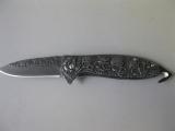 Taschenmesser Totenkopf Skull 21 cm