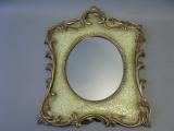 Spiegel 45 cm hoch 35 cm breit