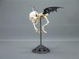 Gusseisen Skelett Vampir Fledermaus 40 cm