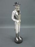 Figur Gothic Skelett 52 cm