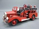 Alte Feuerwehr Blechauto 30 cm