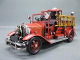 Alte Feuerwehr Blechauto 36 cm