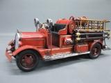 Alte Feuerwehr Blechauto 40 cm