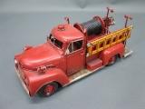 Alte US Feuerwehr Blechauto 30 cm Oldtimer