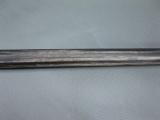 Gehstock aus schwarzem Hartholz, vern. Metallgriff