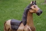 Holzpferd Schaukelpferd Karussellpferd 60 cm Pferd
