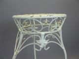 Blumentisch Beistelltisch Metall Blumenhocker Blumenständer 72 cm Landhaus