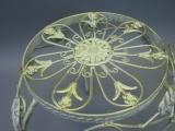 Blumentisch Beistelltisch Metall Blumenhocker Blumenständer 30 cm Landhaus
