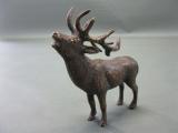 Kleiner Bronze Hirsch 11 cm 200 Gramm schwer