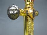 Edler Brieföffner Freimaurer Masonic Templer Tempelritter 54 cm 680 Gramm