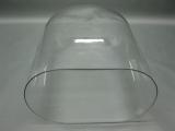 Glasdom Glasglocke Glassturz mit Sockel 42 cm hoch x 32 cm x 21 cm Uhrensturz